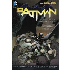 Batman Vol. 1: The Court of Owls (The New 52) Paperback Edition