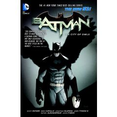 Batman Vol. 2: The City of Owls (The New 52) Paperback Edition