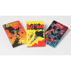 DC Comic Batman Through the Ages Pocket Notebook Collection (Set of 3)